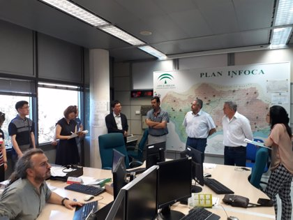 Una delegación de Corea del Sur conoce el funcionamiento y organización del Plan Infoca