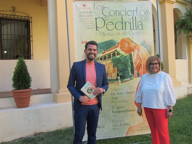 Presentación de los conciertos de Pedrilla en Cáceres