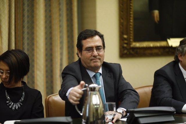 Antonio Garamendi comparece en el Congreso