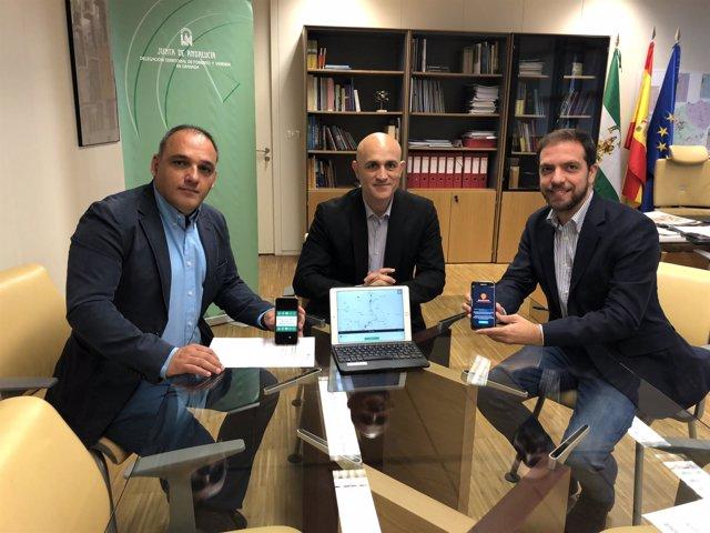 Presentación de la aplicación del Consorcio de Transportes de Granada