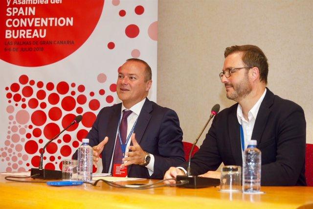 Rueda de prensa del primer encuentro del Spain Convention Bureau