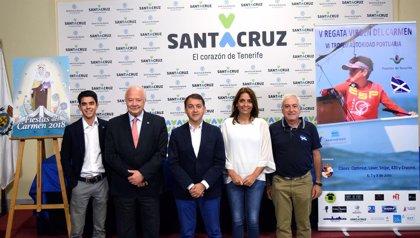 Las Fiestas de la Virgen del Carmen en Santa Cruz de Tenerife contarán con más de una veintena de actos