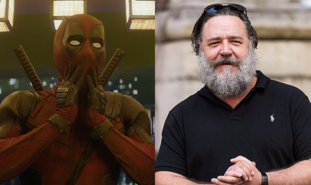Deadpool y Russell Crowe