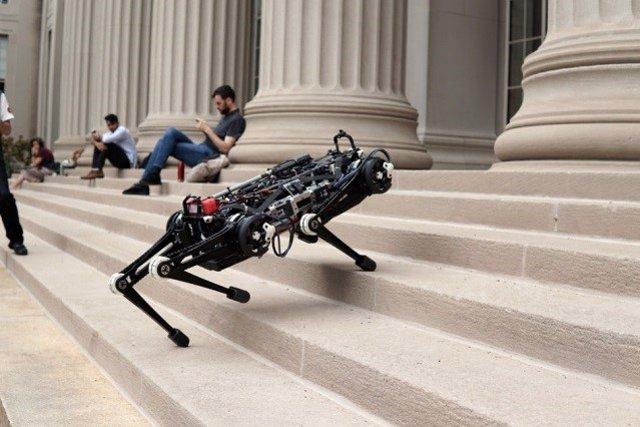 Robot ciego Cheetah 3