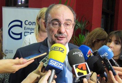 Lambán espera ser proclamado en unos días candidato del PSOE Aragón a las elecciones autonómicas de 2019