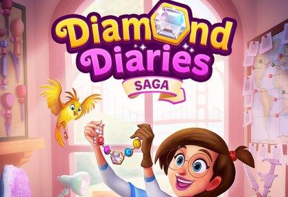 King anuncia el videojuego móvil Diamond Diaries Saga, una aventura de piezas a lo largo del mundo