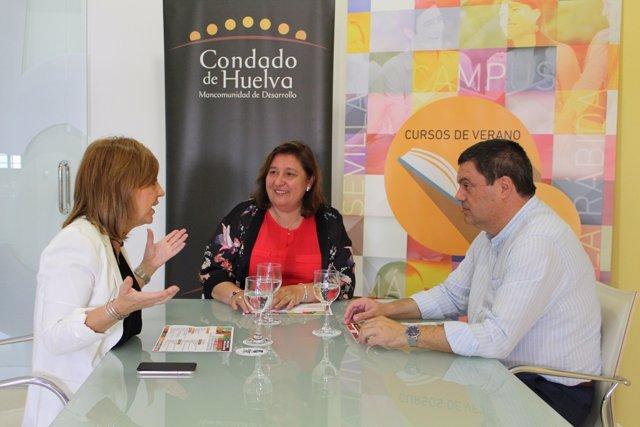Presentación de economías rurales de la UNIA en Huelva