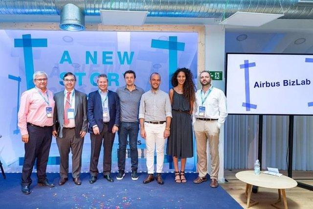 Inauguración BizLab de Madrid de Airbus