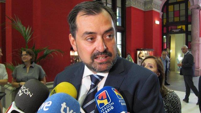 El Presidente De CEOE Zaragoza, Ricardo Mur
