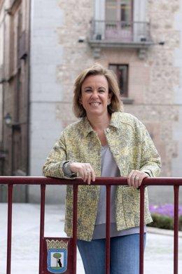 La portavoz socialista en Cibeles, Purificación Causapié