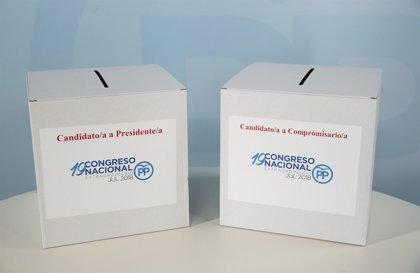 """Los populares gallegos viven una jornada de votaciones para elegir al sucesor de Rajoy """"tranquila"""" y sin incidencias"""