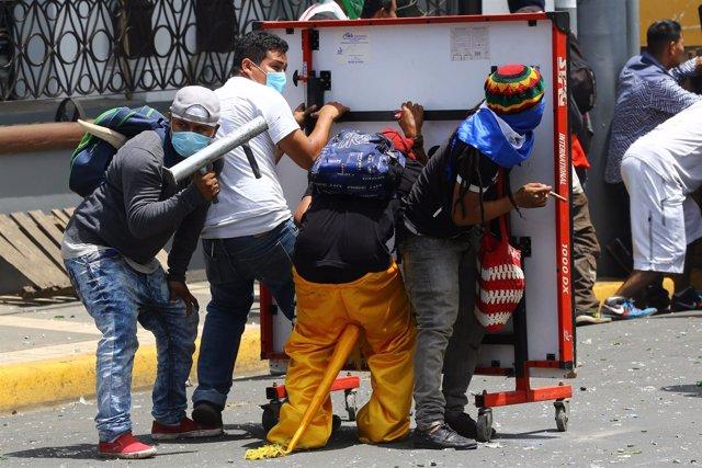 Disturbios en Masaya, Nicaragua