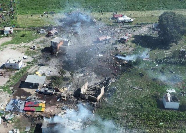 Explosión pirotecnia México