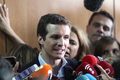 La candidatura de Pablo Casado dice que gana en Madrid, Valencia, Cuenca, Pontevedra y Lugo
