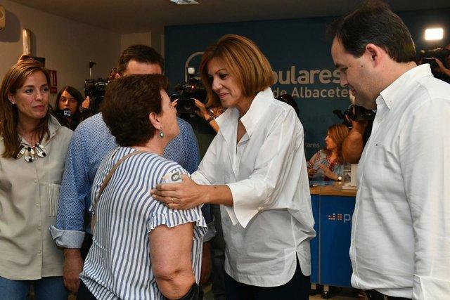 Fotografías María Dolores De Cospedal Vota En Albacete