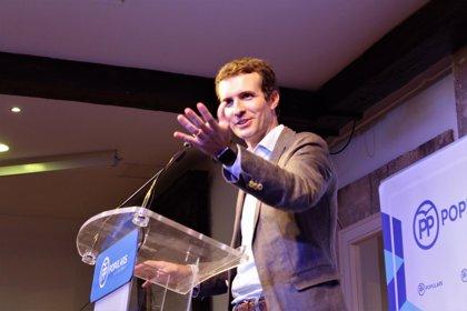 Casado gana las primarias del PP en Baleares con el 46,75% de los votos