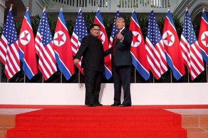 """Trump afirma que cree que Kim Jong Un """"ve un futuro diferente"""" para Corea del Norte"""