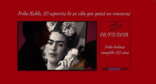 Frida Kahlo, 10 aspectos desconocidos de su vida