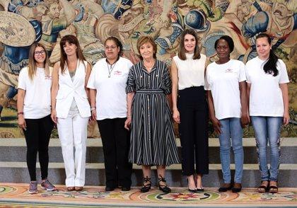 ¿De qué habló la Reina Letizia con la Asociación de la Mujer Prostituida y trata de blancas?