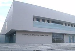 Centro de salud de San Adrián.