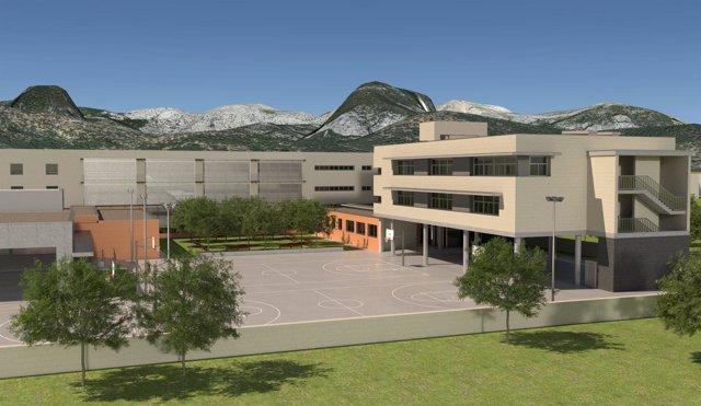 El proyecto de ampliación del IES Binissalem