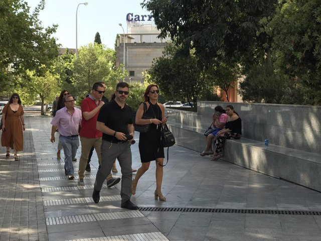 Amigó llega a la Ciudad de la Justicia de València