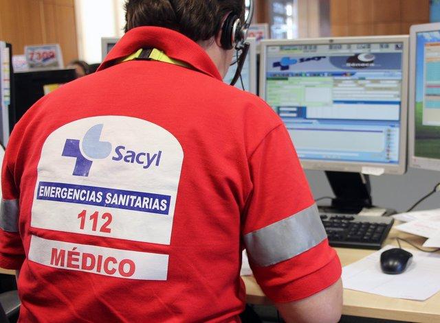 Médico de Sacyl en el 112