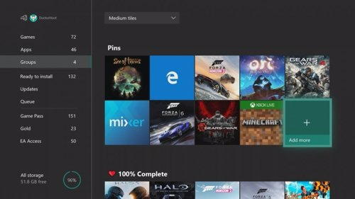 Actualización Xbox One Julio 2018