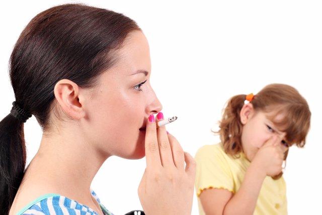 Un ambiente libre de humo tiene importantes beneficios en los niños.