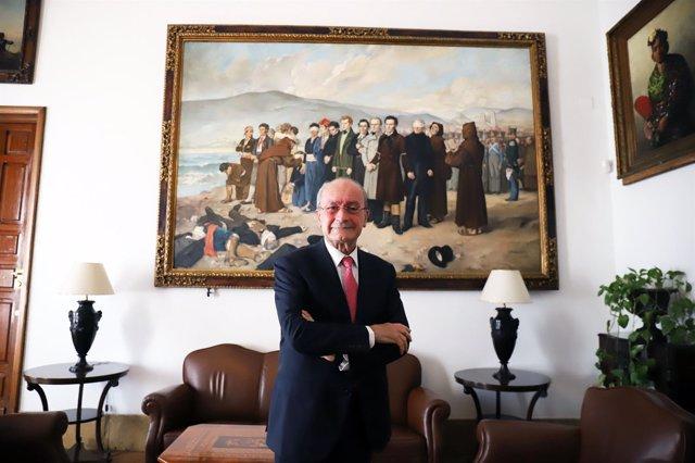 Entrevista con el alcalde de Málaga, Francisco de la Torre,