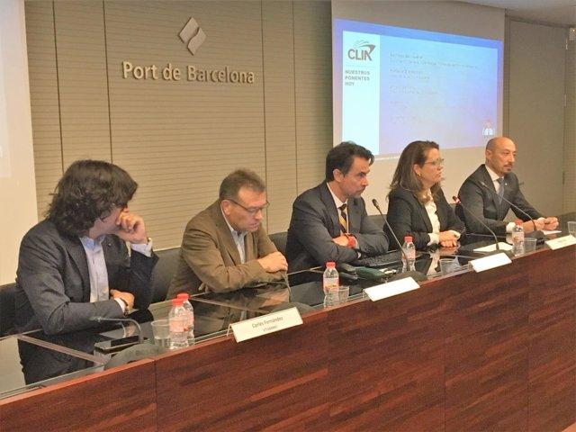 El director de Clia en España, Alfonso Serrano, durante la presentación
