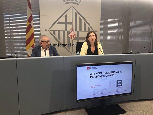 Joan Martínez y Laia Ortiz