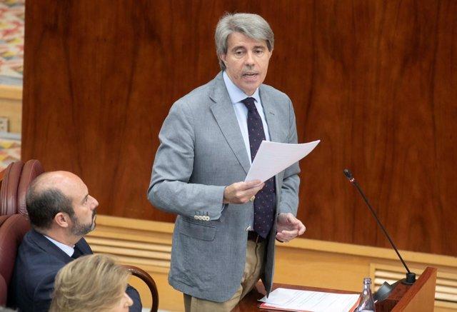 El presidente de la Comunidad, Ángel Garrido