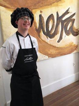 Cocinero del Restaurante Universo Santi