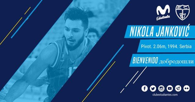 El Movistar Estudiantes ficha a Nikola Jankovic