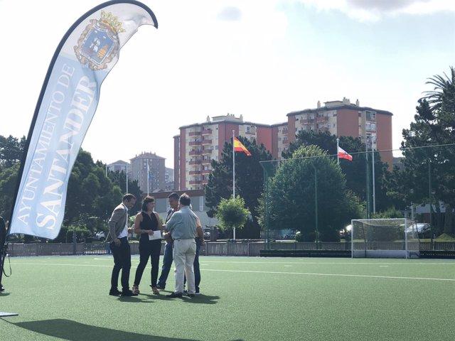 Renovación campo de hockey complejo deportivo 'Ruth Beitia'