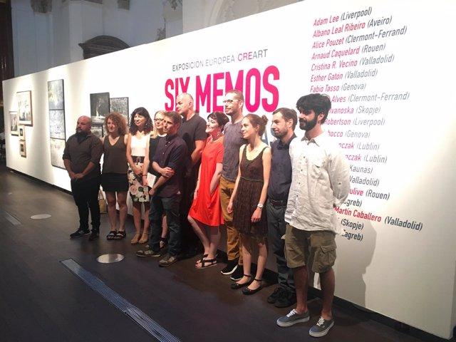 Valladolid.- Artistas que participan en 'Six Memos'
