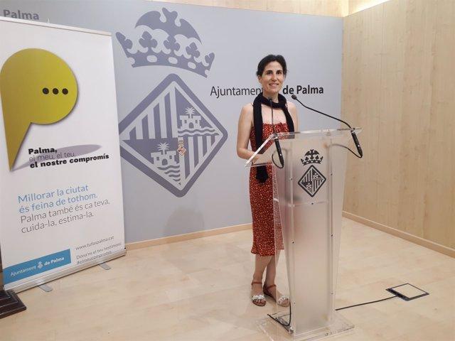 La regidora Antònia Martín