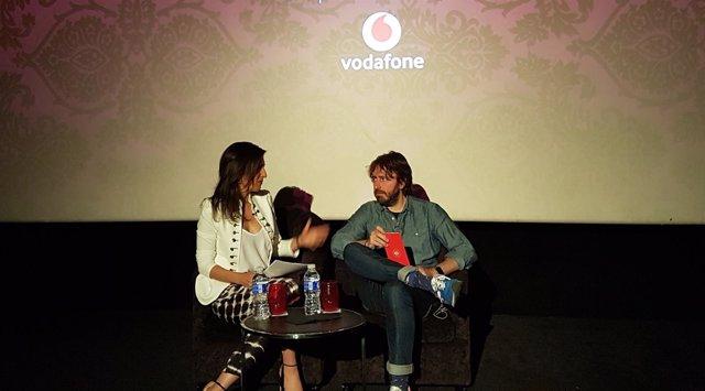El director Daniel Sánchez Arévalo en la presentación del corto 'Brigi'