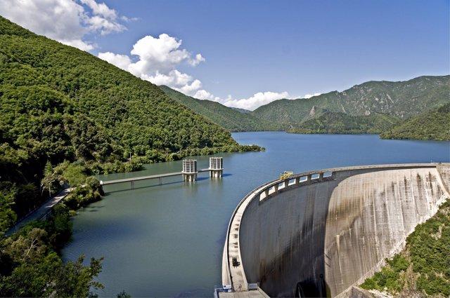 Instalación hidroeléctrica
