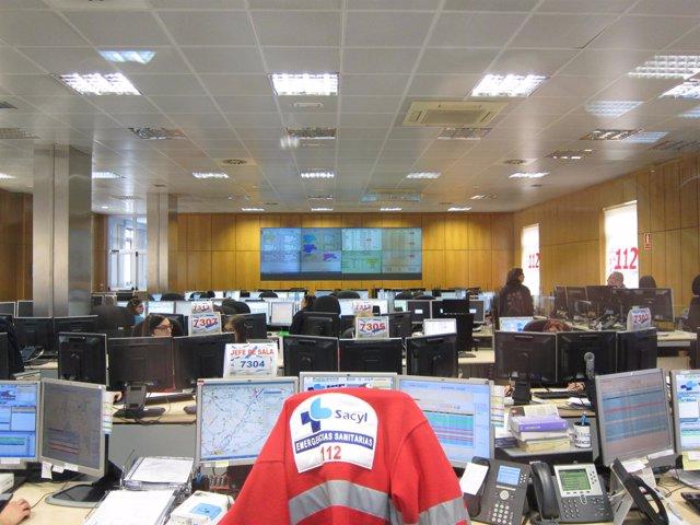 Centro de Atención de llamadas del 112 en Castilla y León