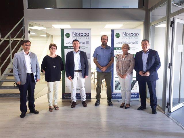 Visita empresa Norpoo