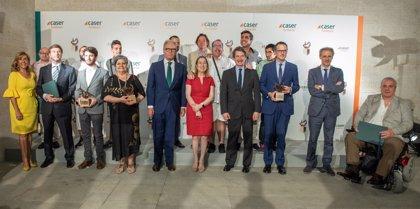 La película 'Campeones' y el primer Erasmus sordociego, Premio Dependencia y Sociedad de Caser