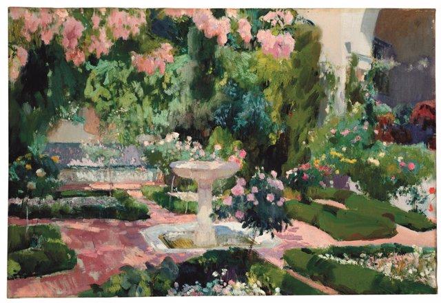 Jardín de la Casa Sorolla (el primer jardín)