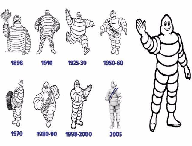 Bibendum, el muñeco de Michelin, cumple 120 años