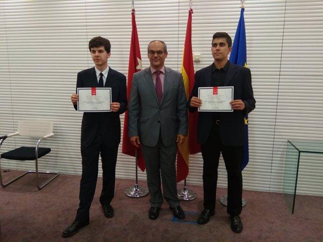 Víctor Sierra, Gonzalo Plaza y Rafael van Grieken