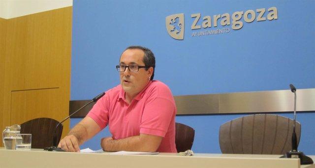 El consejero municipal de ZEC Alberto Cubero.