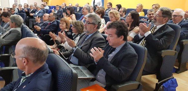 Rectores en la Asamblea de CRUE celebrada en la Universidad de Cádiz