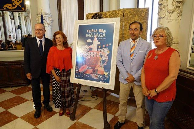 Fundación Andrés Olivares contra cáncer infantil abanderado feria 2018