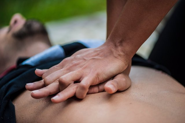 Masaje cardiaco o RCP